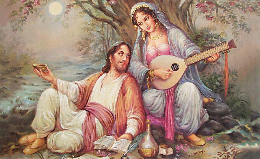 OmarKhayyam and Saki